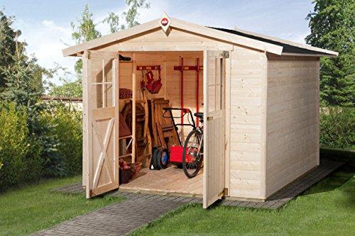 weka Gartenhaus 316 Gr.3, natur, 19 mm, DT