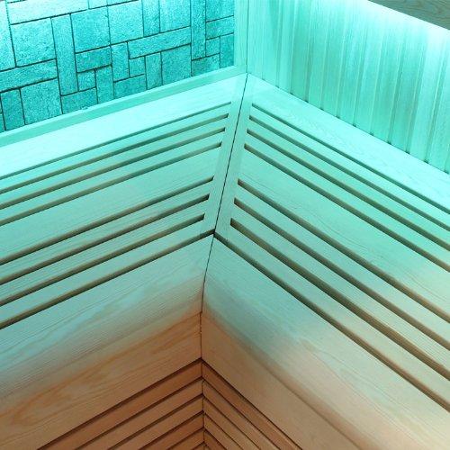 EO-SPA Sauna B1216A Pappelholz 200×120 9kW EOS BiO-Thermat - 4