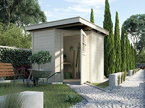 Weka Gartenhaus 5-Eck-Haus Quinta Gr 1 natur